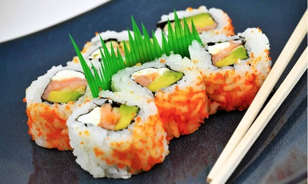 Sushi and Asian Cuisine at Sake Hana Asian Cuisine & Sushi Bar (60% Off). Two Options Available.