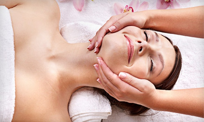 Bela Luz Health Salon - Fairfax: One or Three Herbal Body-Wrap and DermaKinetic Facial Packages at Bella Luz Health Salon (Up to 58% Off)