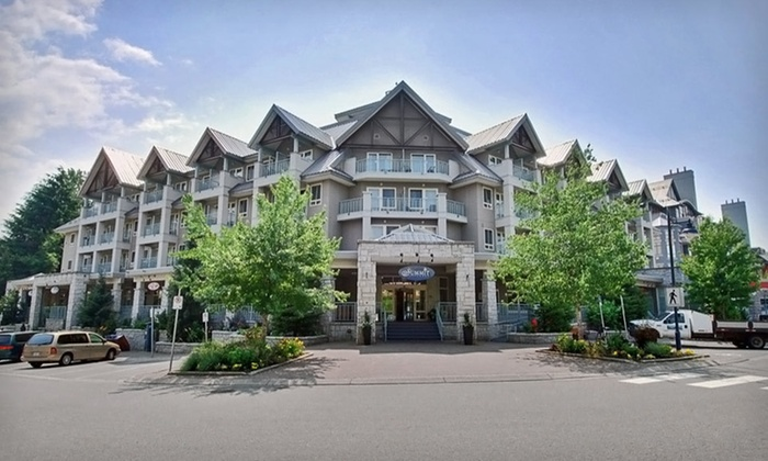 null - Whistler, BC: One- or Two-Night Stay with Parking and Spa Credits at Summit Lodge & Spa in Whistler, BC