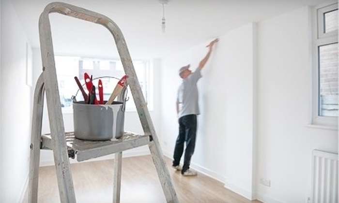 Texas Painting Company - Downtown: One Interior Room or Exterior House-Painting Services from Texas Painting Company (Up to 66% Off)
