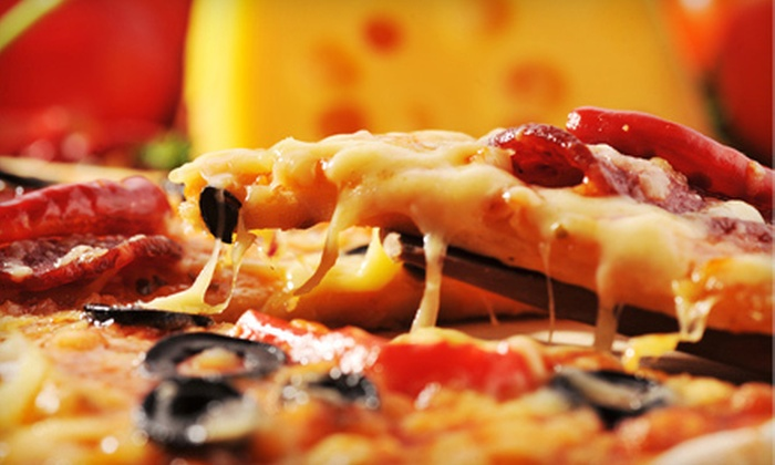Pizza Oven - SPOKANE: Two 16-Inch Pizzas or $12 for $25 Worth of Pizza, Wings, and Drinks at Pizza Oven