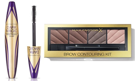 Max Factor Dark Magic Volume Mascara and Brow Contour Set