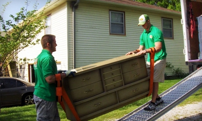 College Hunks Hauling Junk - Bonner - Loring: $70 for Two Hours of On-Site Labor from College Hunks Hauling Junk ($172 Value)