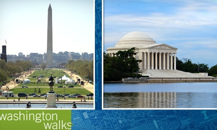 Washington Walks - Multiple Locations: $7 for Your Choice of Walking Tour from Washington Walks