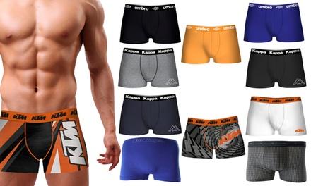Set di 10 boxer multibrand disponibili in 5 taglie