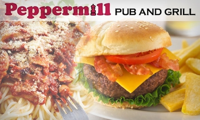 Peppermill Pub and Grill - Brecksville: $10 for $25 Worth of Fresh American Fare and Drinks at Peppermill Pub and Grill