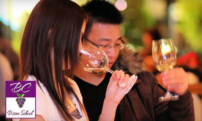 BC Wine school - Fairview: $199 for Seven-Hour Introductory Wine Course Plus Access to Three Connoisseur's Club Events at BC Wine School ($829 Value)