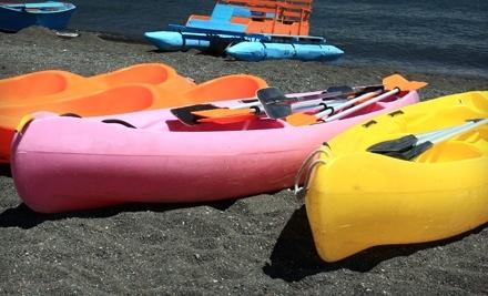 Wascana Canoe Kayak Rentals: Two 1-Hour Single-Kayak Rentals Mon.-Thurs. - Wascana Canoe Kayak Rentals in Regina