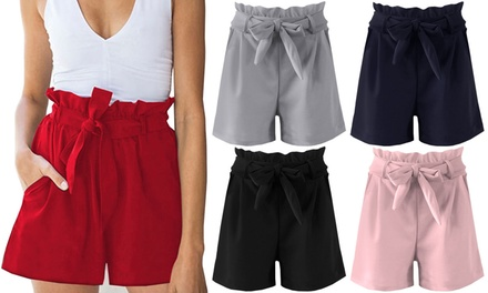 Paper Bag Style Shorts