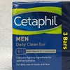 3-Pack Cetaphil Men Daily Clean Bar for Dry or Sensitive Skin (4.5oz)
