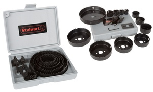 Hole Saw Kit and Storage Case (16-Piece Set)
