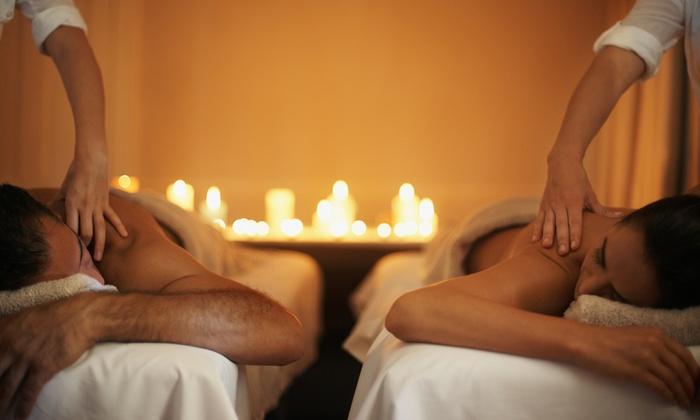 Beauty & Wellness Center Sants - Beauty & Wellness Center Sants: Masaje en pareja con copa de cava y chocolate y opción a masaje craneofacial desde 34,95 € en Wellness Center Sants