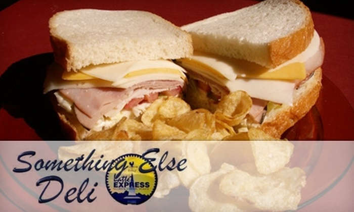 Something Else Deli & Latte Express - East Central: $4 for $8 Worth of Sandwiches, Salads, Drinks, and More at Something Else Deli & Latte Express