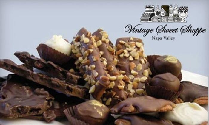Vintage Sweet Shoppe - Cental Napa: $12 For a Dozen Assorted Truffles at Vintage Sweet Shoppe ($24.95 value)