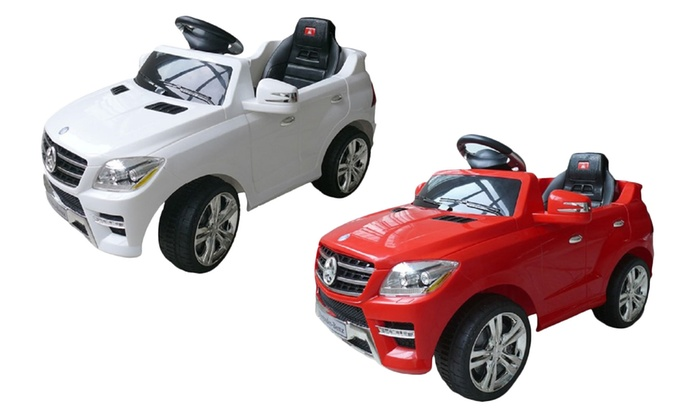 Kids Mercedes ML V RideOn Cars Groupon - Ride on cars