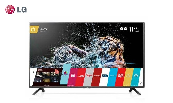 """אל - כל סחר אלקטרוני בע""""מ - Merchandising (IL): טלוויזיה LG חכמה """"55 עם מעבד גרפי חזק במיוחד לגלישה וביצועי Smart מהירים"""