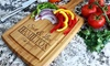Up to 60% Off Custom Cutting Boards from Qualtry