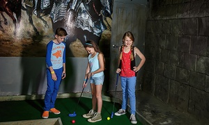 Carrara Mini Golf: 18 Holes of Mini Golf for One Child ($3), Adult ($6) or Family of Four ($15) at Carrara Mini Golf (Up to $20 Value)