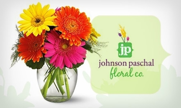 Johnson Paschal Floral Co. - University: $29 for $60 Worth of Flowers or Gift Baskets from Johnson-Paschal Floral Company
