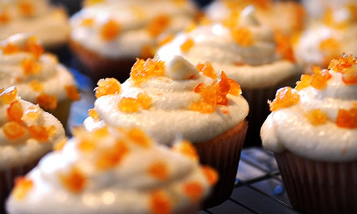 Cupcake Heaven NY: One, Two, or Three Dozen Cupcakes with Delivery from Cupcake Heaven NY (Up to 60% Off)