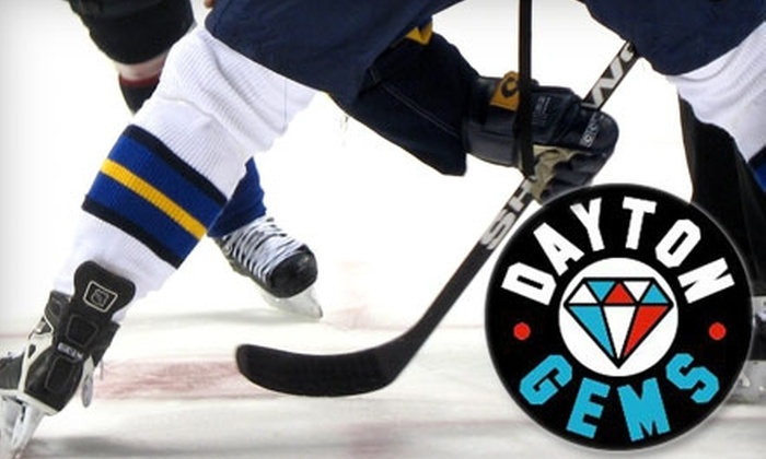 Dayton Gems - Trotwood: $12 for Two Tickets to Dayton Gems Hockey Game at Hara Arena (Up to $24 Value). Choose Between Two Dates.