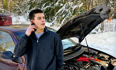1-Year Basic Roadside-Assistance Membership (a $78 value) - Access Roadside Assistance in