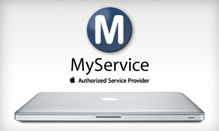 MyService - Santa Clara: $50 for $100 Worth of Mac Upgrades and Repairs from MyService in Santa Clara