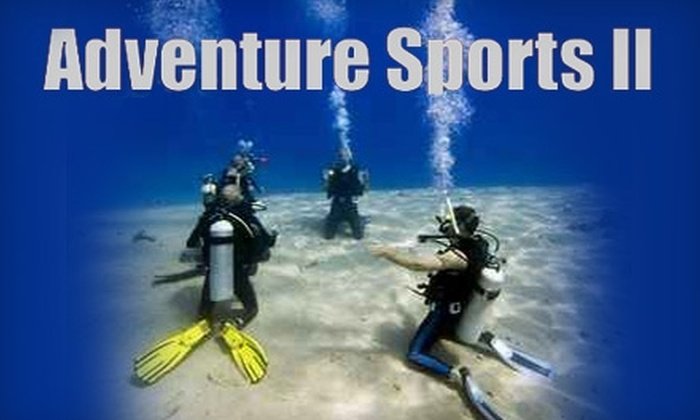 Adventure Sports II - Forest Park: $10 for a Discover Scuba Diving Lesson at Adventure Sports II ($25 Value)