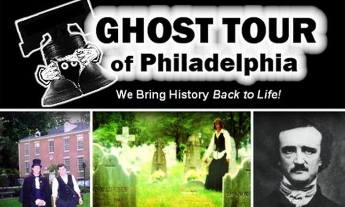 Philadelphia Ghost Tour - Philadelphia: $9 for Candlelight Ghost Tour of Philadelphia ($17 Value)