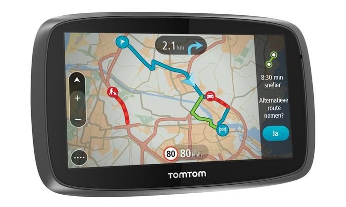 Groupon Goods Global GmbH: GPS TomTom GO 5000 Europe à 179,99 € (45% de réduction)