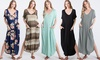 Love Kuza Oversized Relaxed Fit Maxi Dress with Pockets
