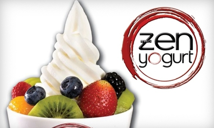 Zen Yogurt & Smoothies - Five Points South: $5 for $10 Worth of Frozen Yogurt and Smoothies at Zen Yogurt & Smoothies
