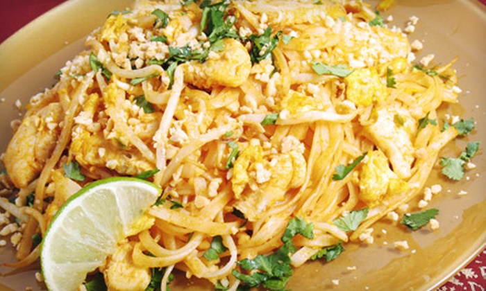 Tommy's Thai - Congress Park: $5 for $10 Worth of Thai Fare and Drinks at Tommy's Thai