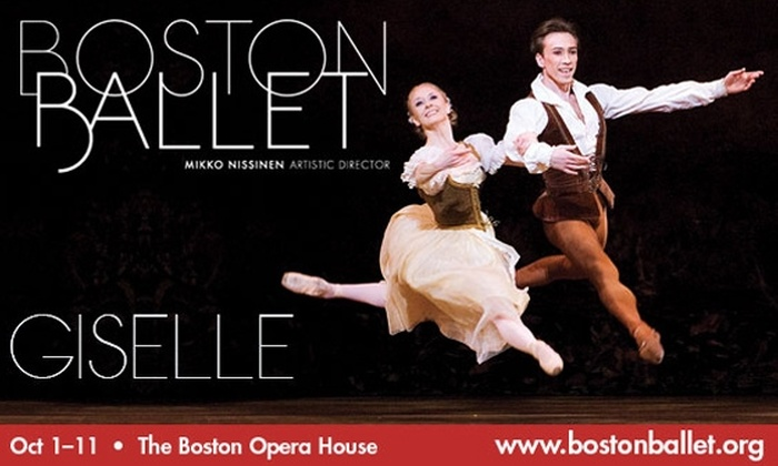 Boston Ballet - Boston: $65 for Section A Ticket to Boston Ballet's 'Giselle.' Buy Here for 10/10 at 2 p.m. Alternate date below.