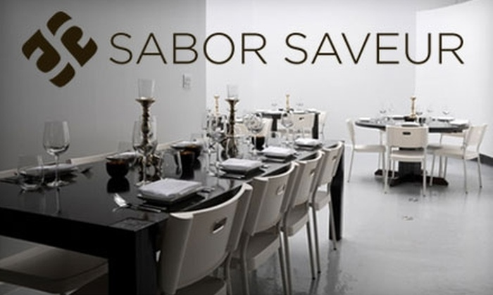 Sabor Saveur - Wicker Park: $15 for $30 Worth of French-Mexican Fusion Cuisine at Sabor Saveur