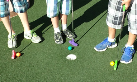 18-Hole Round of Mini Golf for Two or Four at Whistle Punk Hollow Adventure Golf (Half Off)