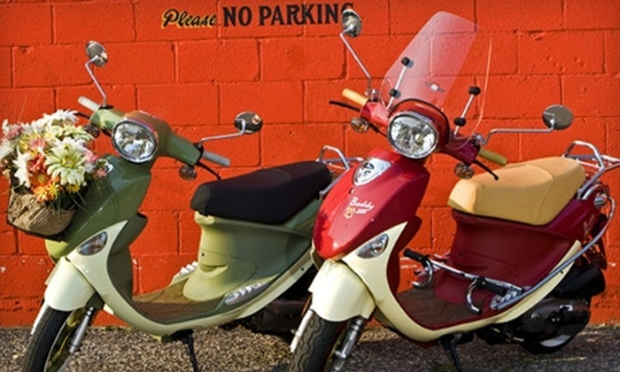 Scoot Over - Ward 6: $2,400 for a Buddy 150 International Scooter at Scoot Over ($3,199 Value)