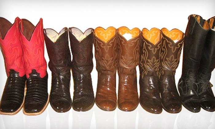 Ernie's Shoe Shine - San Angelo: $5 for a Boot- or Shoeshine from Ernie's Shoe Shine ($10 Value)