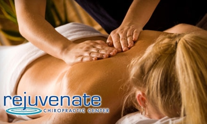 Rejuvenate Chiropractic Center - Winterset: $29 for a Chiropractic Consultation, Exam, X-Rays, and Treatment from Rejuvenate Chiropractic Center in Lee's Summit (Up to $295 Value)