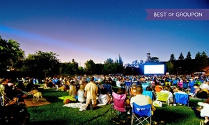 Up to 50% Off an Outdoor Movie Screening from Eat|See|Hear  at Eat|See|Hear, plus 6.0% Cash Back from Ebates.