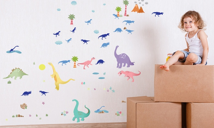 Pegatinas infantiles decorativas groupon goods for Pegatinas infantiles