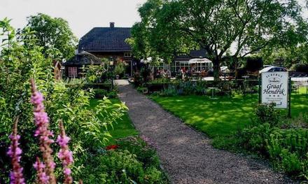 De Achterhoek: 13 nachten voor twee incl. ontbijt en naar keuze driegangendiner bij Auberge Graaf Hendrik