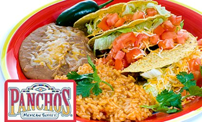 image for $10 for Adult All-You-Can-Eat Buffet Pancho's Mexican Buffet ($14 Value)