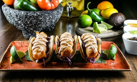 Latin and Mexican Cuisine at Mago Grill & Cantina (Up to 38% Off). Eight Options Available.
