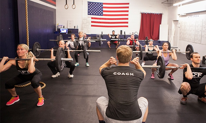 """CrossFit Framingham - Framingham: Four-Week """"On Ramp"""" Program with Optional Month of Unlimited Classes at CrossFit Framingham (Up to 79% Off)"""