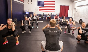 "CrossFit Framingham: Four-Week ""On Ramp"" Program with Optional Month of Unlimited Classes at CrossFit Framingham (Up to 79% Off)"