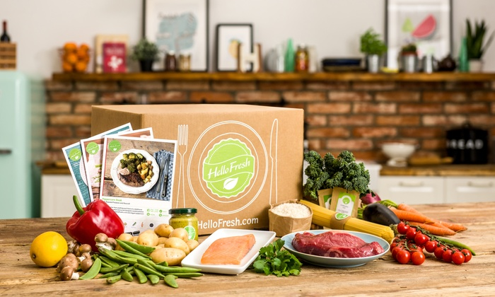 HelloFresh: One, Two, Four, or Six Weeks of Subscription Cook-at-Home Meals for Two or Four from HelloFresh (Up to 56% Off)