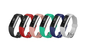 Silicone Band for Fitbit Alta and Alta HR Fitness Trackers