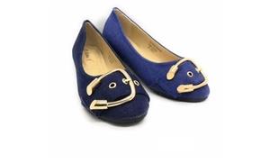 Women's Denim Flat Shoes