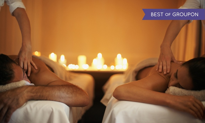 Natural Healing Massage Services - Landmark Building: One 60-Minute Couples Massage with Eye Mask and Foot Scrub at Natural Healing Massage Services (Up to 50% Off)